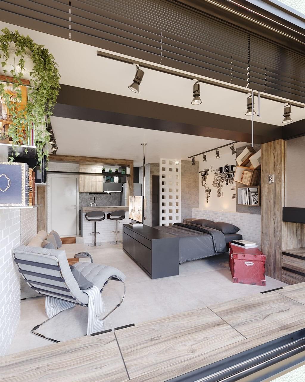 Arquiteta Beatriz Teixeira - Loft Tarcízio