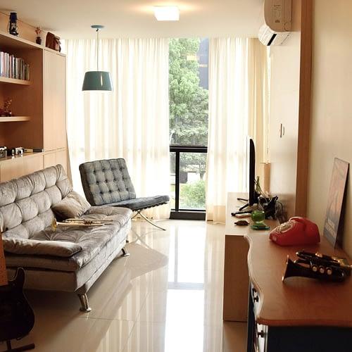 Arquiteta Beatriz Teixeira - Apartamento Franco Sala